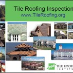 Tile Roofing Inspection