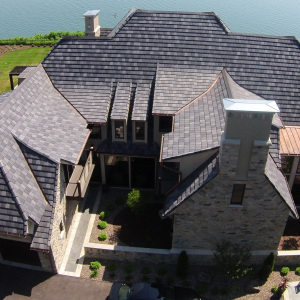 VHR Roof Tile | Modern Slate : Light and Dark Gray | Wisconsin | Tennessee