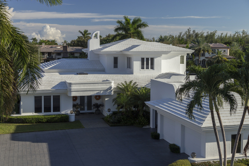 Eagle Roofing   White on White: Bel Air   Florida